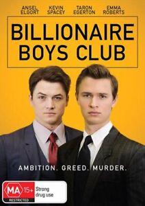 Billionaire Boys Club DVD