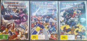 TRANSFORMERS VICTORY SUPER GOD MASTERFORCE HEADMASTERS DVD G1 JAPANESE ANIMATION