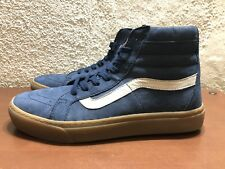 2bc5bf22d3 Vans Sk8 Hi Cup Nubuck Dress Blues Light Gum Mens size 8.5 NEW VN0A2Z5XKV7