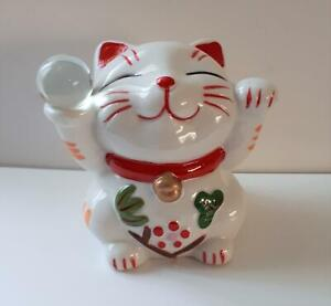 Cute Lucky Japanese Cat Money box, NEW and boxed,