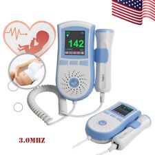 LCD Fetal Doppler, 3MHz, Baby Heartbeat Monitor, LCD, Dual Interface, 3Mode USA