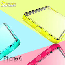 "Pc & Tpu Case For iPhone 6 (4.7"") 5 5c 5s + Screen Guard  TPU Matte Cover"