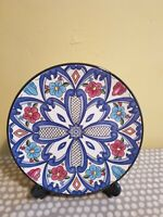 Spanish Hand Made Decorative Plate By Ceraplat