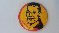 Carl Perkins artist singer rockabilly vintage buttons LARGE BUTTON 2