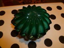 Vintage New Round 390 gram/11.3oz Malachite Made in Czechoslovakia Jewelry Box