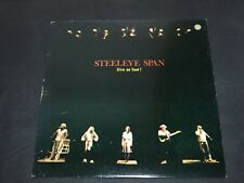 "1978 Steeleye Span ""Live at Last"" CHR 1099 Early Press A2/B1"