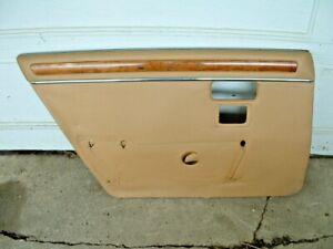 Jaguar Left Rear door panel. From a 1986 XJ6 series 3 car