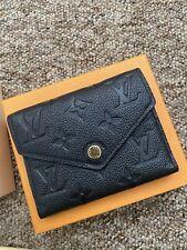 Louis Vuitton VICTORINE Wallet  Black