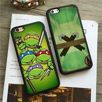 Teenage Mutant Ninja Turtles Silicone Case For iPhone 5c 5s 6/6s 7 Plus SE 8