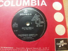 "The Shadows – Tomorrow's Cancelled 1967 7"" Columbia DB 8264"