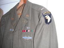 WW2 ORIG. PARATROOPER 101st AIRBORNE OFFICER IKE JACKET 502nd PARA INF REGT Nice