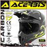ACERBIS IMPACT CARBON 3.0 CASCO MOTO CARBONIO MOTOCROSS ENDURO OFFROAD TAGLIA XS