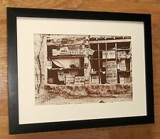 Frank Sutcliffe - Advertisements - 12''x16'' frame, vintage art board print