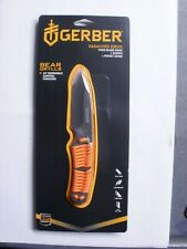 Gerber Bear Grylls Survival Paracord Handle Fixed Knife w/ Sheath 31-001683