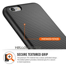 "Black Ultra-Flexible Anti-Slip Soft Silicone TPU Case Cover For iPhone 6 6S 4.7"""
