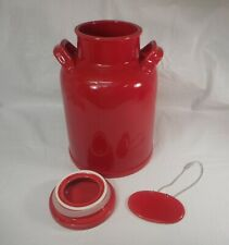 1.5 Gallon Red Ceramic Beverage Dispenser Jug Pitcher by American Atelier®