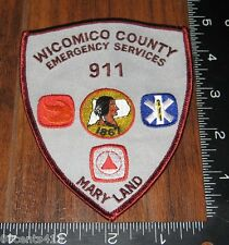 Wicomico County Maryland Emergency Services Cloth Patch Only
