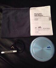 RARE SONY D-NE9 CD Walkman Atrac3plus MP3 Portable Player + RM-MC33EL Controller