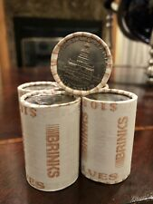 UNSEARCHED KENNEDY HALF DOLLAR ROLL - BICENTENNIAL COINS ON EACH END!