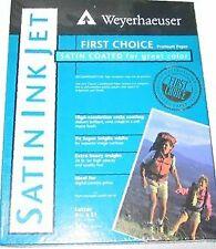Weyerhaeuser Satin Photo Printing Paper 100 Sheet Pack