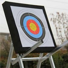 10Pc Gun Paper Targets Shooting Hunting Rifle Range Archery Pistol Practice Q