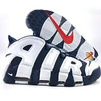 Nike Air More Uptempo Olympic USA White Navy Blue 414962-104 Mens 11.5-14 Pippen