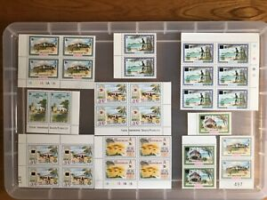 Anguilla stamps unchecked mint (bb223)