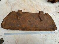 Battlefield Relic Original WW2 Russian T34 Entry Hatch - Heavy Piece - Paint