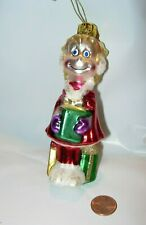 "Cindy Lou christmas tree Ornament how Grinch who Stole movie glass 5"" figurine"