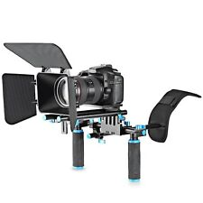 NEW Style DSLR Video Rig Set Movie Kit Film Making System Shoulder Mount Follow