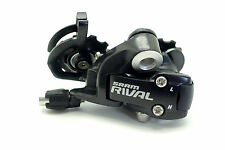 New SRAM Rival 10 Speed Short Cage Rear Derailleur (Black)