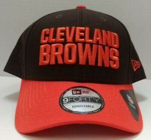 Cleveland Browns New Era 9Forty Adjustable League Hat - Free Ship