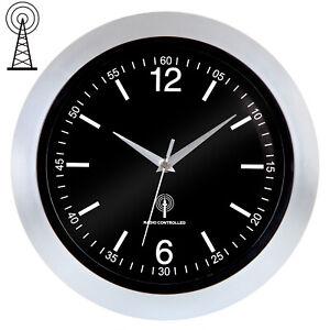 Reloj de pared Controlado por radio silencioso de alta precisión Salón Cocina