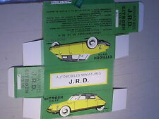 REPLIQUE BOITE CITROEN DS 19  JRD 1961
