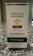Neutrogena Healthy Defense Daily Moisturizer Sensitive SPF 50 1.7 OZ EXP 7/19