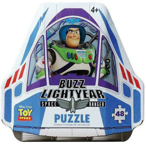 Toy Story Buzz Lightyear Puzzle Keepsake Collector Tin 48pcs Free Postage
