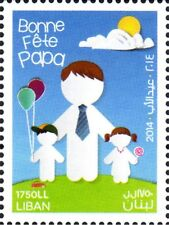 New Father's Day Stamp 2014 MNH Lebanon