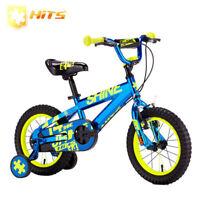 HITS Shine Children Bike Kid Safe Bicycle Child's Bike With Training Wheels 14''