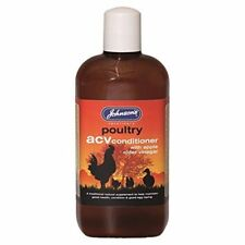 Johnsons ACV Conditioner 500ml - Apple Cider Vinegar Chicken Bird Health Tonic
