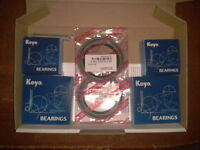 FORD FALCON FAIRMONT LTD,XA XB XC XD XE XF,DISC FRONT 2 WHEEL BEARING KIT,JAPAN