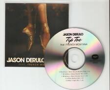 JASON DERULO FT FRENCH MONTANA 'TIP TOE' 5 REMIX BRAZILIAN CD PROMO
