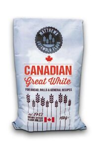 Canadian Strong White Bread Flour - 16kg