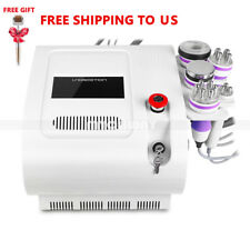 5in1 Ultrasonic Vacuum Cavitation RF Radio Frequency Body Slimming Machine SPA