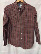 Ralph Lauren Boy's Plaid Button Down Dress Shirt Size XL 18-20 (Teenager)