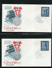 """Canada 1974 Fdc 21St Summer Olympics """"Keep Fit"""" Children Diving From Dock"""