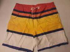 Vintage Polo Ralph Lauren Men's Striped Color Block Sailing Boat Shorts W 38 XL