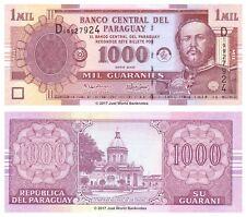 Paraguay 1000 Guaranies 2005 P-222b Banknotes UNC