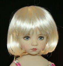 """Little Darling, Boneka, BJD'S """"Hannah"""" Wig Sizes 5-6, 6-7,7-8, 8-9, 9-10"""