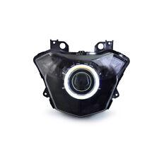 KT LED Angel Halo Eye Custom HID Headlight Assembly for Kawasaki Z650 2017 2018