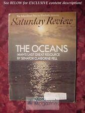 Saturday Review October 11 1969 The OCEANS CLAIBORNE PELL HAROLD TAYLOR PIET HEM